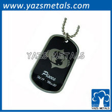 customize horoscope army dog tag, Pisces dog tag