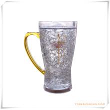Doppelwand Frosty Mug Frozen Ice Bierkrug für Werbegeschenke (HA09070-4)