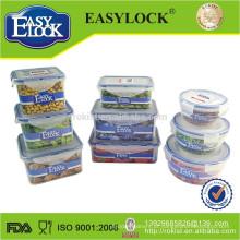 recipiente de alimento plástico easylock