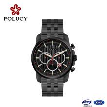 Classique Chronograph Mens Watch montre personnalisée