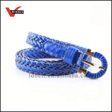Specialty leather braided belt