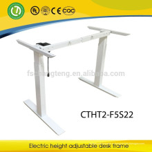 Современный эргономичный стол с регулируемой высотой, металлический каркас ножки для офисной мебели