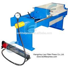 Leo Filterpresse 500 Kleine Abwasserbehandlungsfilterpresse, Druckmaschine für Größenkapazität