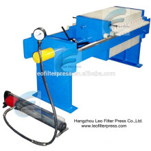 Leo Filter Press 500 Small Wastewater Treatment Filter Press,Pressure Machine for Size Capacity