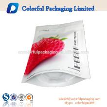 Estante de sacos de embalagem de alimentos de plástico para frutas secas