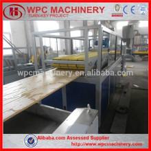 Linha de produção de madeira de madeira de PVC Linha de produção de PVC WPC