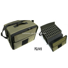 водонепроницаемый нейлоновый мешок инструмента с различных пользовательских пены внутри и вышивка логотипа