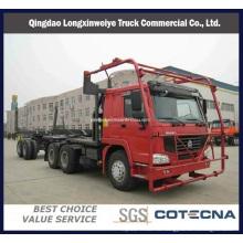 Части sinotruk HOWO перевозит дрова и бревна грузового транспорта (ZZ4257N3557A)