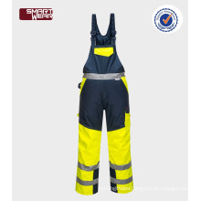 Professional functional durable hi vis reflective winter work ppe safety equipment pants