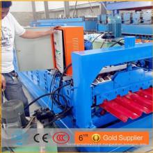 Máquina de formação de rolo de perfil IBR / 840 roll formando macj] hine