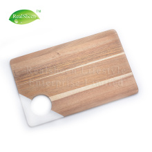 Preminum Marble و Acacia Wood Cutting Board