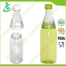 600ml Venta al por mayor dos botellas de agua de los compartimientos (DB-G1)