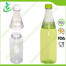 600ml Atacado Dois compartimentos garrafa de água (DB-G1)
