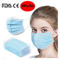 3-fache EarLoop Mask Anti-Virus-Einweg-Gesichtsmasken