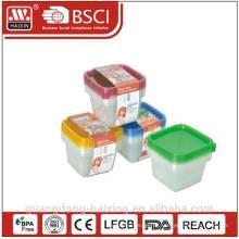 Пищевой пластик площади контейнер 0.55L(4pcs)