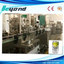 Ligne de remplissage de lavage en aluminium