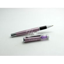 Подлинная Фиолетовый Кристалл Металлический Зажим для пера Дизайн