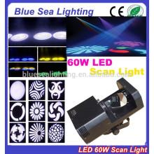 2015 hotsale 60w luz branca 3d scanner levou luz do scanner