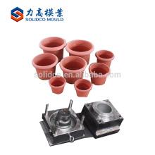 Plástico de flowerpot de alta qualidade para o molde do produto do jardim de China