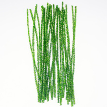 Green Glitter Pipe Cleaners décoration de Noël