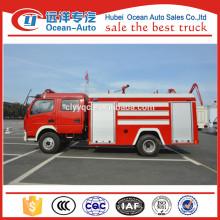 Dongfeng 5000liter water tank standard fire truck dimensions