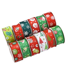 Wholesale  Wrapping Wedding Decoration Sheer Fold Gift Box With Print Ribbon Wire Edges Silk Christmas DIY Magic