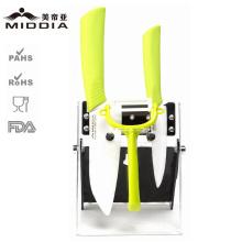 Mutifuctional Messer Set mit Farbe Griff für Küche Produkte
