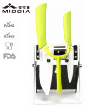 Mutifuctional Knife Set with Color Handle for Kitchen Products