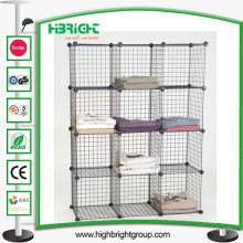 Magasin d'accessoires Mini cube organisateur de vêtements Cube