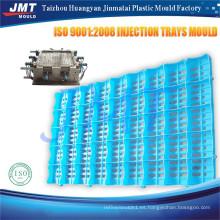 Diseño aduanero bandejas de plástico moldeado
