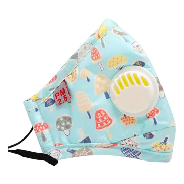 Filter Washable Children Cotton Fabric Face Mask
