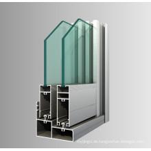 Aluminium Extrudierte Aluminium Fenster Türen Profil