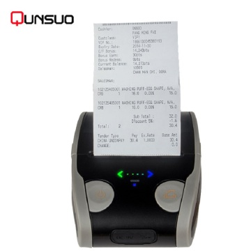 Pencetak Kod Bar Label Termal Bluetooth 58mm