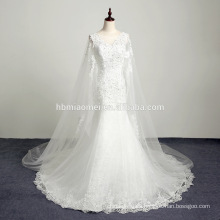 White sweetheart floor length organza ball gown actual long train embroidered casual wedding dress