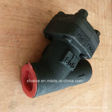 ANSI Standard Forged Steel A105 Thread End Y Type Strainers