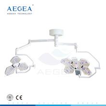 AG-LT014B Cirugía dos cabezas importadas bombillas LED quirófano oem luz quirúrgica