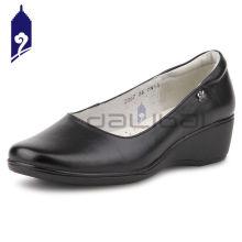 classy latest design good quality black formal shoes women