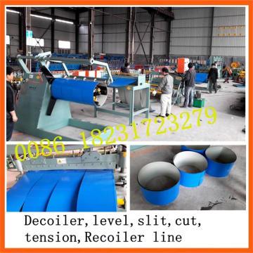 1250 мм * 0,8 мм Металлический листовой станок для продольной резки и перемотки