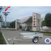 China caliente sumergido galvanizado caja remolque