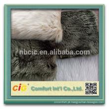 Tela da pele do vison / tela longa da pele de pilha / tela artificial da pele para o vestuário / sapata / tampa de Seat
