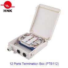 12 портов для подключения оптического кабеля