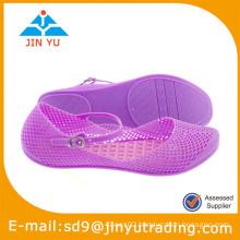2015 ladies pvc sandals
