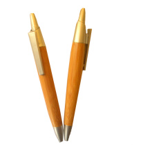 New Style Cilck Bamboo Pen for Promotion