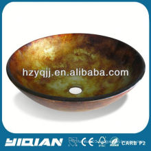 2016 Best Selling Glass Wash Basin Price