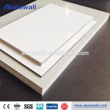 6mm Alucobond bois acp feuille textures panneau composite en aluminium