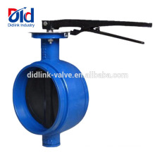 Clamp Dn300 150mm Flange Stainless Flanged Dimension Cast Iron Grooved Butterfly Valve 4 Inch