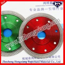 Lámina de sierra de diamante prensada en caliente para la pared de cerámica