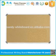 wholesale alum frame cork board size