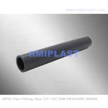 Tubo y conexión de PVC ASTM SCH80
