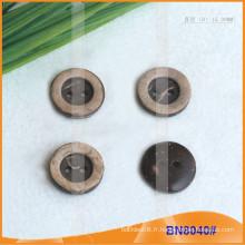 Boutons de noix de coco naturels pour le vêtement BN8040